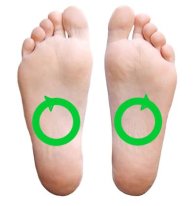 kløe under fodsålerne