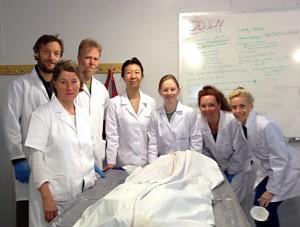 """Team Odin"" på dissektionskursus i Arizona"
